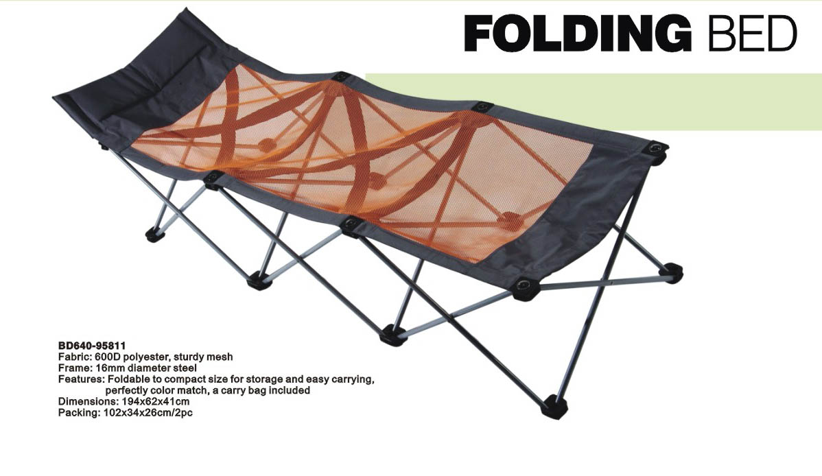 Portable folding bed in a bag - Pab305 Camping Bed Folding Bed Portable Bed Lawn Bed